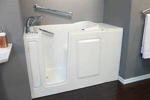 Walk in bathtubs can often be installed in just a few days!