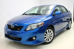 2010 Toyota Corolla S Sport *Fog *Mags *A/C *Cruise *Gr.Electric