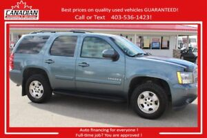 2008 Chevrolet Tahoe LT AWD 7LOADED $12900 Financing for ALL