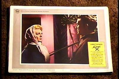 MADAME X 1966 LOBBY CARD #6 LANA TURNER