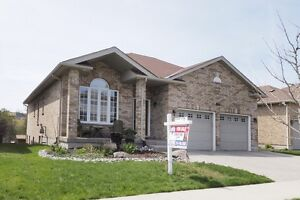 Custom built 4 bedroom Bungalow backing onto Greenspace