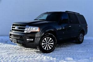 2017 FORD EXPEDITION XLT 4X4   CERTIFIED   LEATHER   REAR CAMERA