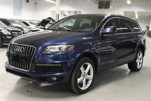 2013 Audi Q7 3.0T SLINE/NAVIGATION/PUSH START/7 PASSENGER