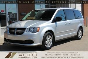 2012 Dodge Grand Caravan ** STOW 'N GO ** REAR AIR ** LOW KM **