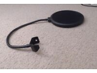 detached pop filter