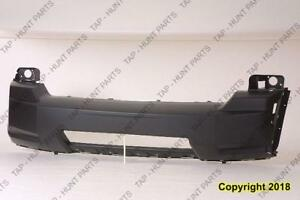 Bumper Front Primed With Lower Chrome Moulding Hole Ltd Model Capa Jeep Liberty 2008-2012