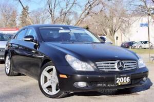 2006 Mercedes Benz CLS-500 - Local Ontario Vehicle - Certified!