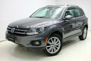 2015 Volkswagen Tiguan Highline 4motion GPS/Camera Cuir/Real-Lea