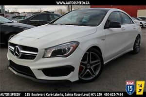 2014 MERCEDES-BENZ CLA 45 AMG 4MATIC NAVI/PANORAMIC/CAMERA/XENON