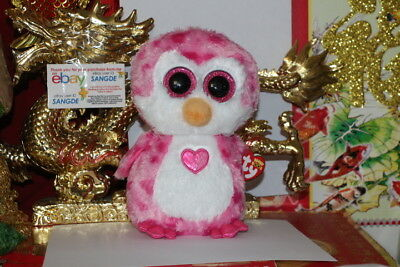"TY BEANIE BOOS JULIET THE VALENTINE PENGUIN.9"" MEDIUM BUDDY.2017.MWNMT.NICE GIFT"