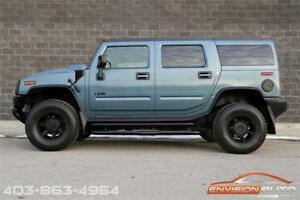 2008 HUMMER H2 SUV  BLACKED OUT \ ONLY 113,600KMS \ LOCAL AB H2!