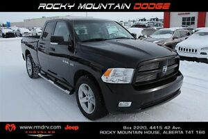 2010 Dodge Ram 1500 Sport Quad Cab 4x4 * Heat+ A/C Leather Seats