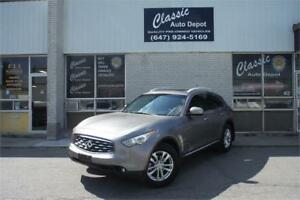 2009 INFINITI FX35 **LEATHER**SUNROOF**NAVIGATION**REAR DVD**