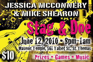 STAG and DOE TICKETS!! Creative, Professional, Fun! London Ontario image 3