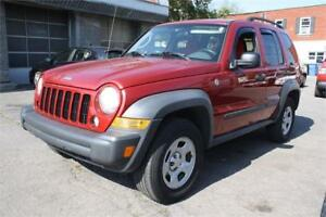 2007 JEEP LIBERTY 4X4 AUTOMATIQUE GARANTIE 12 MOIS