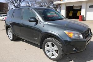 2008 Toyota RAV4 Sport 4CYL SUNROOF! ACCIDENT FREE! CLEAN TITLE!