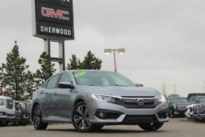 2016 Honda Civic EX-T CVT| Sun| Heated Seats| RV Cam| BT| 17 Rim