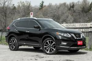 2017 Nissan Rogue SL PLATINUM/ LEATHER/ROOF/NAVI/BCKUP CAMERA