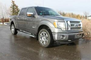 2012 Ford F150 Lariat Crew Cab Ecoboost * EASY FINANCING *