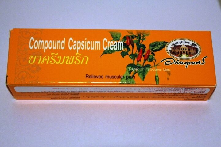 Organic Capsicum Cream – Capsaicin Cream 25g – Heat Cream – Pain Relief