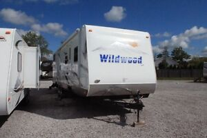 2009 Forest River Wildwood Travel Trailer