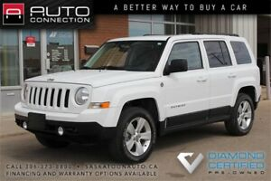 2011 Jeep Patriot North 4x4 ** VERY LOW KM ** MOONROOF **