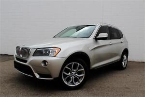 2014 BMW X3 XDRIVE | NAV | AWD | CERTIFIED | LOW KM |