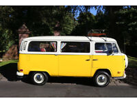 1972 VW CAMPERVAN CROSSOVER FULLY RESTORED HER NAME IN SUNNY IMPECCABLE EXAMPLE