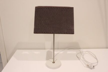 Lamp with stand and shade