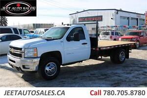 2014 Chevrolet Silverado 3500HD LT Regular Cab NEW FLAT DECK