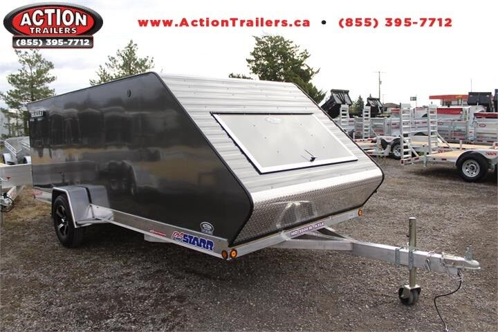 Utility Trailers For Sale Ontario >> 7'X16' INLINE HYBRID SNOWMOBILE TRAILER! BEST TOWING ...