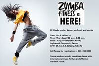 Latin Dance workout Zumba 10 classes for only $100