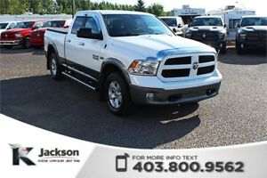 2013 Ram 1500 Outdoorsman - Rear View Camera, Touchscreen