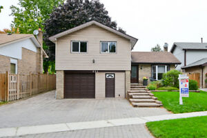 Completely Renovated Detached Home in Whitby