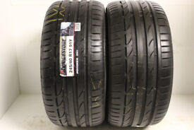 F67 2X 245/40/17 91Y BRIDGESTONE POTENZA S001 1X7MM 1X8MM TREAD DOT 1112 1011 1XPUNCTURE REPAIRS