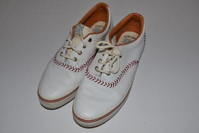 0d9268520dc CHAMPIONSHIP SERIES KEDS BASEBALL 1992 WHITE RED SHOES WOMENS SIZE 6.5 for  sale Jacksonville Beach