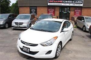 2012 Hyundai Elantra GL - Accident Free - Beautiful White