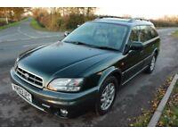 Subaru Outback 2.5 Petrol Auto Estate 4 WHEEL DRIVE - heated leather seats, 83,000 Full Service Hist