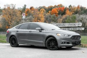 2014 Ford Fusion SE/ LEATHER/SUNROOF/ NAVIGATION LOADED