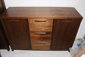 Drawer- Chest John Lewis Real Wood Brown Wide Sideboard * RRP £699 make an offer