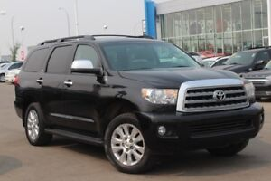 2011 Toyota Sequoia Platinum| Sun| Nav| DVD| H/C Leath| Rem Star