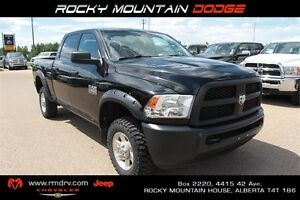 2014 Ram 2500 Crew Cab 4x4 / 6.7L I6 / 6 Sp Manual