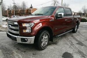 2016 F150 Lariat Navigation,Back Camera, leather$49999, 17000km