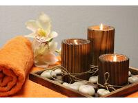 Aromatherapy hot oil massage