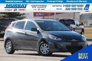 2012 Hyundai Accent Hatchback*MP3 COMPATIBLE,USB PORT*