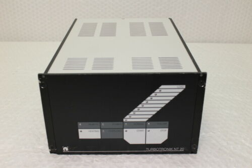 5371  Leybold NT20 Turbotronic Vacuum Pump Controller