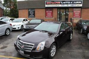 2008 Cadillac CTS 4 AWD Low KMS!!