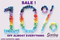 Last chance for 10% off Scentsy!!