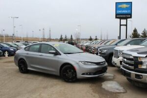 2016 Chrysler 200 S Prem AWD| Sun| Nav| H/C Leath| Heat Wheel| R