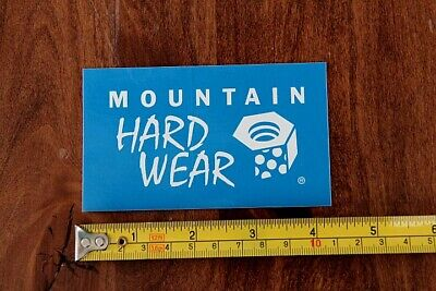 Used, MOUNTAIN HARDWEAR Tent Jacket STICKER Decal NEW Blue for sale  Shipping to India